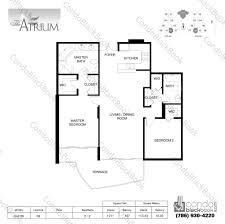 eichler atrium floor plan atrium floor plan the atrium aventura floor plans sq ft evelyn