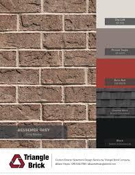 Poised Taupe Blog Triangle Brick
