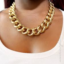 gold chunky necklace images Sandi pointe virtual library of collections jpg