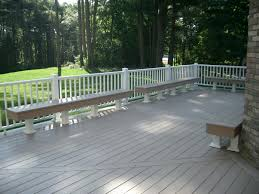 exterior design azek decking and white railings decks u0026 fencing