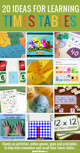 Learn Times Tables Helping Kids Learn Their Times Tables Activity Online Times
