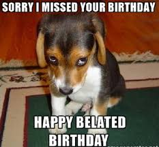 Birthday Memes For Facebook - image happy belated birthday meme for facebook jpg the secret