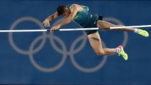 local hero da silva soars to pole vault gold olympic news