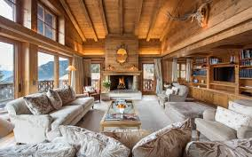 rustic interior design styles log cabin lodge southwestern