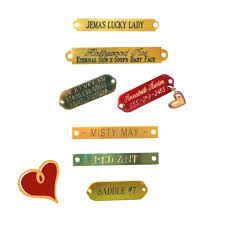 baby name plates engraved small nameplates for tack 7 50 free shipping usa