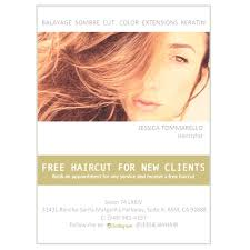 free haircut with color service first time clients only see you