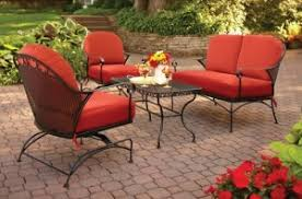 Patio Chair Cushions Set Of 4 Better Homes And Gardens Clayton Court Cushions Walmart