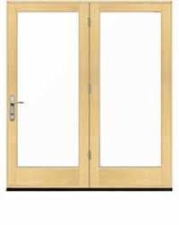 Swing Patio Doors Pella 450 Series Wood In Swing Hinged Patio Doors Pella Professional
