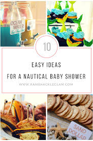 themed baby shower 10 ideas for a nautical themed baby shower ramshackle glam