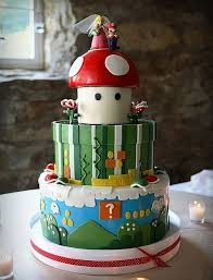 Wedding Cake Games Wondrous Collection Of Video Game Inspired Cakes Vuing Com