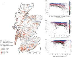 Map Scotland Map Reveals Where In Scotland Lyme Infected Ticks Are Most Likely