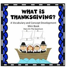 thanksgiving social story social skills autism by on the