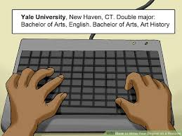 How To List Scholarships On Resume 3 Ways To Write Your Degree On A Resume Wikihow