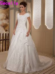 Modest Compare Prices On Modest Bridal Dress Online Shopping Buy Low
