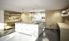 cuisine hardy inside cuisine contemporaine en stratifié en bois avec îlot h h25
