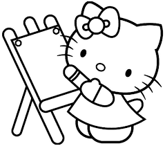 coloring sheets printables coloring pages kitty coloring
