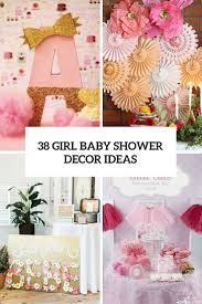 girl themes for baby shower cutest baby shower decor ideas archives digsdigs