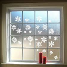 stickers for glass doors christmas stickers snowflakes wall decal vinyls hanging snowflakes