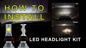Led Head Light Bulbs by Led Headlight How To Install Led Headlight Kit Led Headlight Bulbs