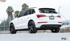 audi q5 rims and tires audi q5 niche milan m134 wheels black machined with tint