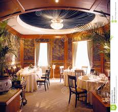 luxury dining room dinner will be served soon in a luxury dining room royalty free