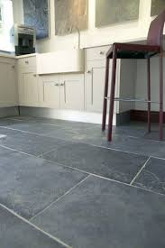 Gray Tile Kitchen Floor by Large Grey Floor Tile Subway Close Lay With Dark Grey Grout
