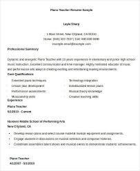 Musician Resume Examples by Music Teacher Resume Word Format Music Teacher Resume Music