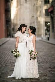 a chic vintage wedding in brooklyn kat u0026 lauren u2014 amber