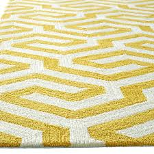 Yellow And White Outdoor Rug Yellow And White Rug Tapinfluence Co