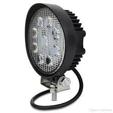 4 inch round led lights 4inch 27w round led work light flood light fog driving headlight for