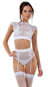 bridal bra bridal bra set white crop top set yandy