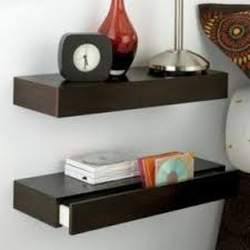 Floating Nightstand Shelf Floating Shelf With Drawer Foter