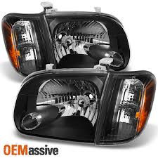 2004 tundra tail light black 2005 2006 tundra double crew cab headlights w corner