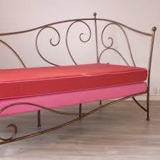 canapé en fer forgé mobilier de salons et canapés en fer forgé artisanal fabrication