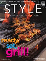 style el dorado county foothills july 2013 by style media group