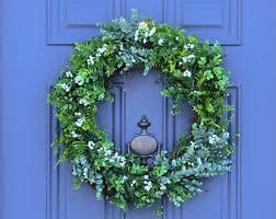 large boxwood wreath etsy
