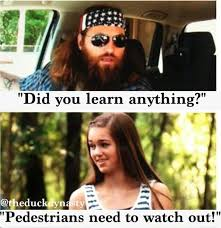 did you see duck dynasty you are awesome sadie if you see this you are the best person