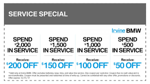 bmw repairs bmw service coupons discounts specials oc bmw service center