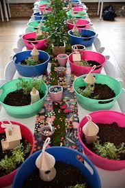 Garden Crafts Ideas - kara u0027s party ideas fairy garden crafting table from a fairy garden