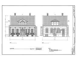 historic house plan drawings of new orleans la book 5 j randal