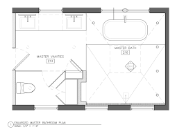 small master bathroom floor plans the entire bathroom is white