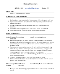 Resume Template For Medical Assistant 29 Resume Templates Free U0026 Premium Templates
