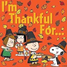 snoopy happy thanksgiving clip i m thankful for arlie