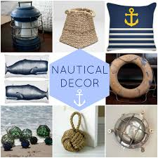 Beach Home Decor Accessories Round Up Of Nautical Decor At Our Boat House