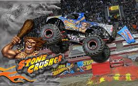 monster truck show houston texas stone crusher monster truck wallpaper