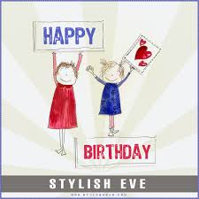 stylish eve design inspirations stylish and cute happy birthday