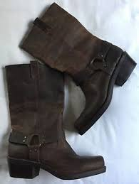 womens size 12 motorcycle boots mossimo leather katherine boots s size 12 brown distressed