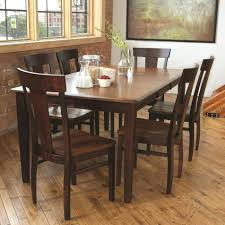 dining chairs maple dining room table and chairs solid maple