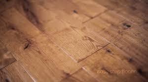 Hand Scraped Laminate Flooring Advantages 1 Solid Oak Flooring Handscraped Tobacco Youtube