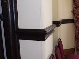 choc brown dado rails interior decor pinterest dado rail